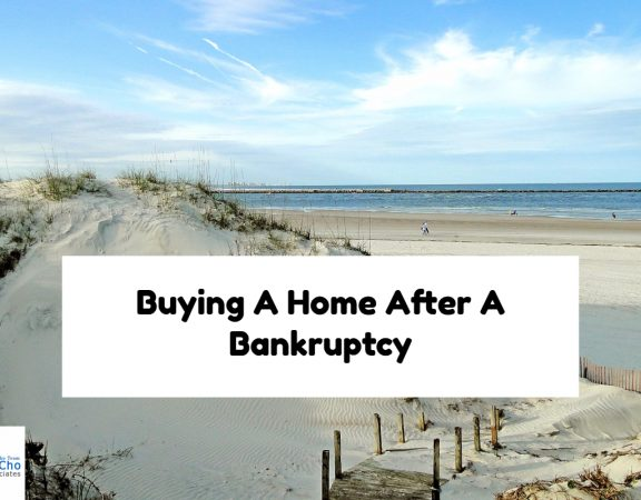 Buying A Home After A Bankruptcy