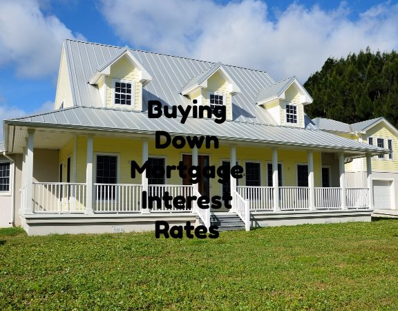 Buying Down Mortgage Interest Rates