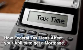 Mortgage With Tax Lien
