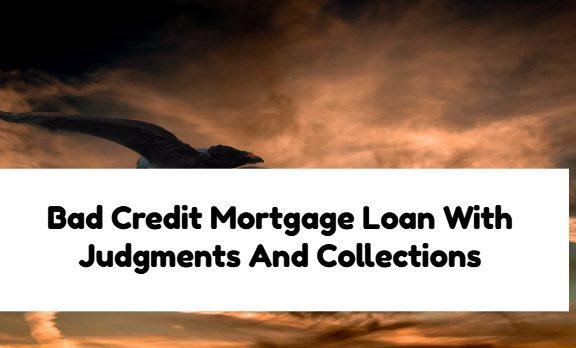 Bad Credit Mortgage Loan