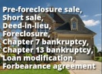 Foreclosure as part of your Bankruptcy