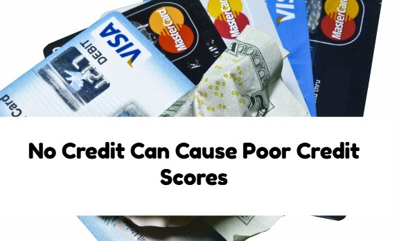 No Credit Can Be Cause For Poor Credit Scores