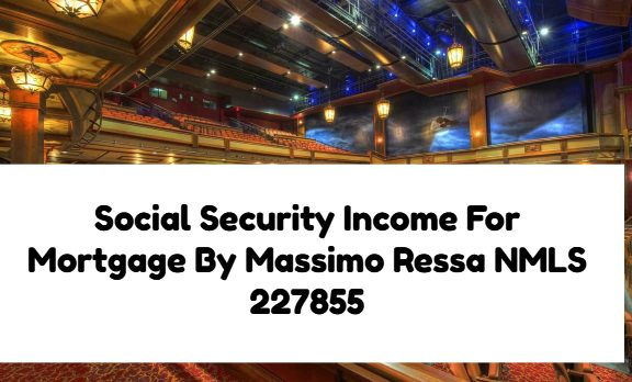 Social Security Income For Mortgage