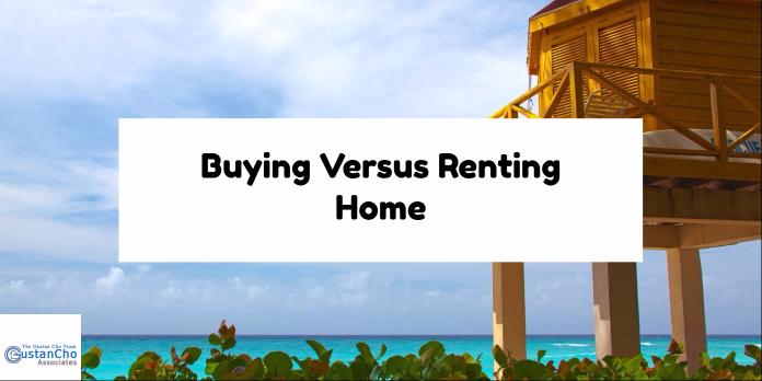 Buying Versus Renting Home