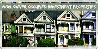 Investment Home Mortgage Loans