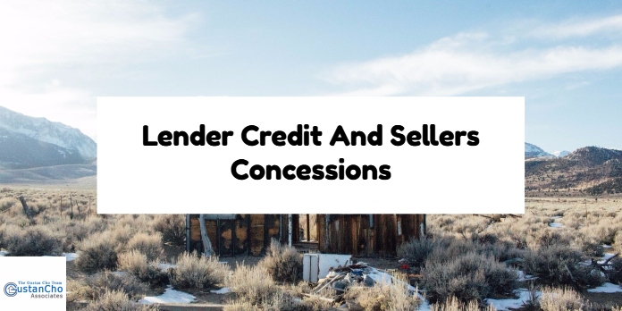 Lender Credit And Sellers Concessions