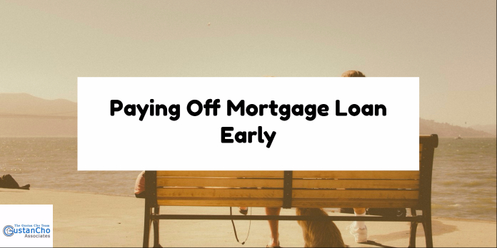 Paying Off Your Mortgage Loan Early
