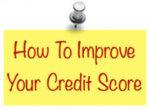 Maximize your credit scores