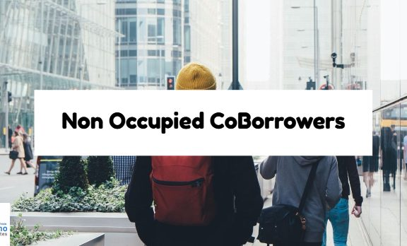 Non Occupied CoBorrowers