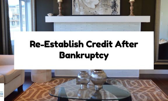 Re-Establish Credit After Bankruptcy
