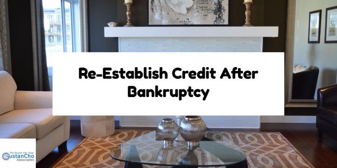 Re-Establish Credit After Bankruptcy