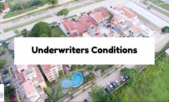 Underwriters Conditions