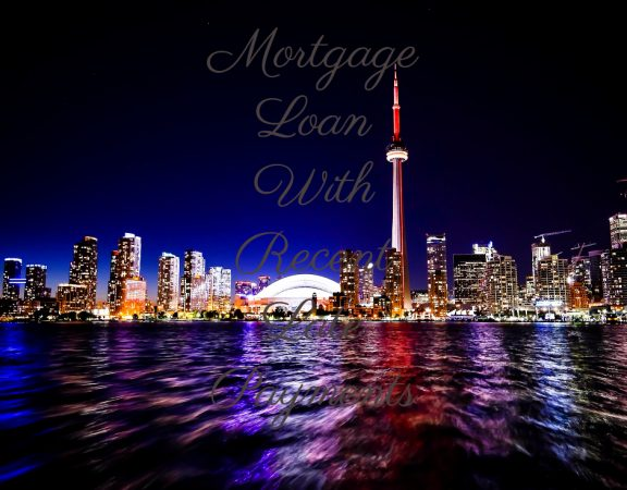 Mortgage Loan With Recent Late Payments