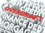 Why are overdrafts in bank statements scrutinized in mortgage underwriting process?