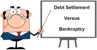 Debt Settlement Versus Bankruptcy
