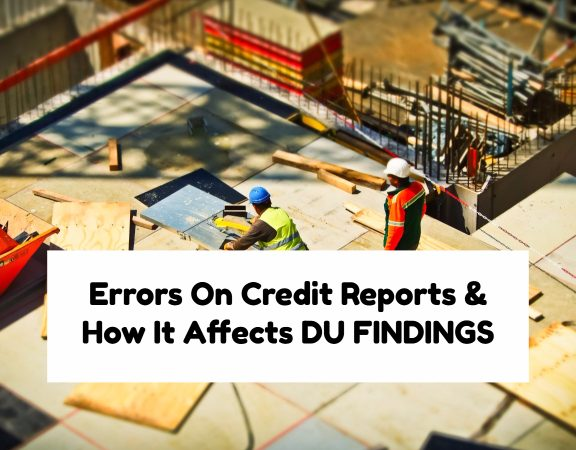 Errors On Credit Reports