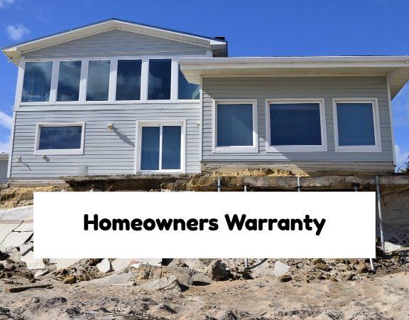 Homeowner Warranty