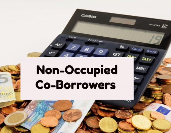 Non-Occupied Co-Borrower