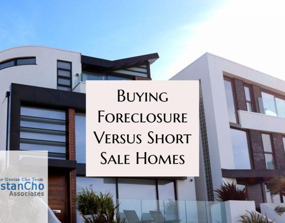 Buying Foreclosure Versus Short Sale Home