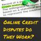 Credit Dispute During Mortgage Process