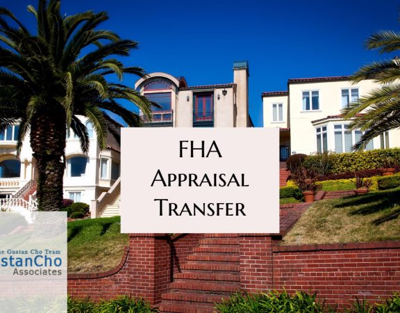 FHA Appraisal Transfer