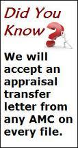 Can I Do A FHA Appraisal Transfer?