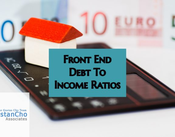 Front End Debt To Income Ratios