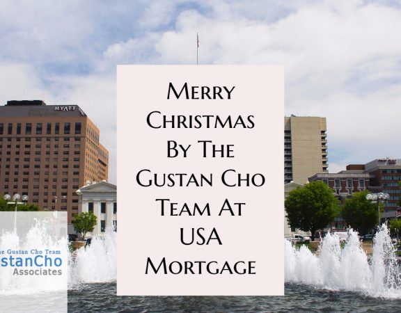 Merry Christmas From The Gustan Cho Team at USA Mortgage