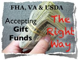 Gift Funds For Down Payment And Closing Costs