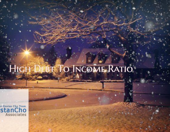 High Debt To Income Ratio