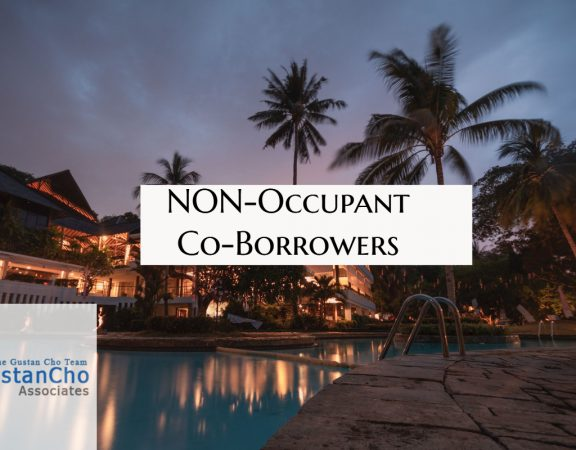 Non Occupied Co Borrowers With FHA Loans