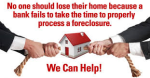 Foreclosure: Stopping The Foreclosure Process