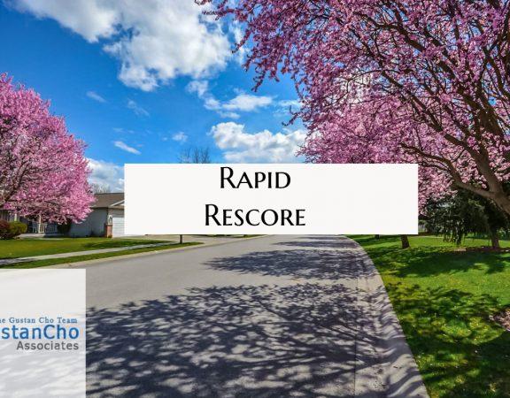 Update Credit Report Fast Rapid Rescore