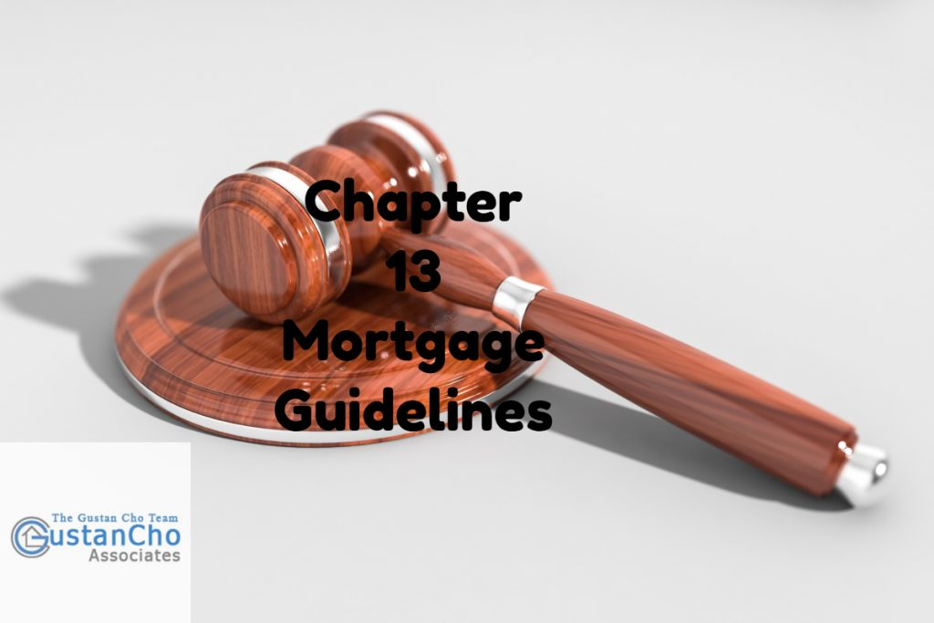 Chapter 13 Bankruptcy Mortgage Guidelines And Requirements