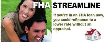 FHA Refinance Streamline