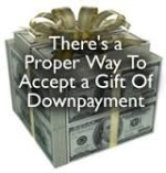 Gift Funds For Down Payment On House Purchase