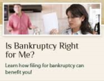 Bankruptcy: Is Bankruptcy For Me?