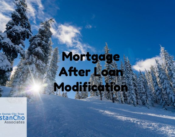 Mortgage After Loan Modification