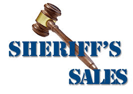 Sheriff's Sale In Foreclosure Process