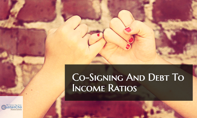Co-Signing And Debt To Income Ratio