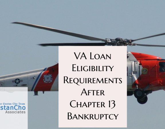 VA Loan Eligibility Requirements After Chapter 13 Bankruptcy