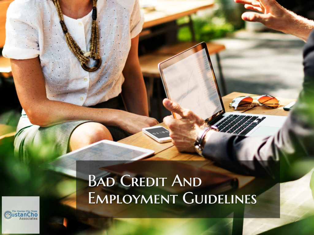 Bad Credit And Employment