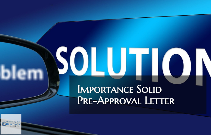 Importance Solid Pre-Approval Letter