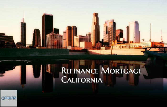 Refinance Mortgage California