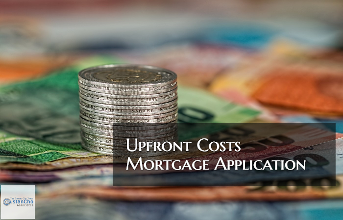 Upfront Costs Mortgage Application
