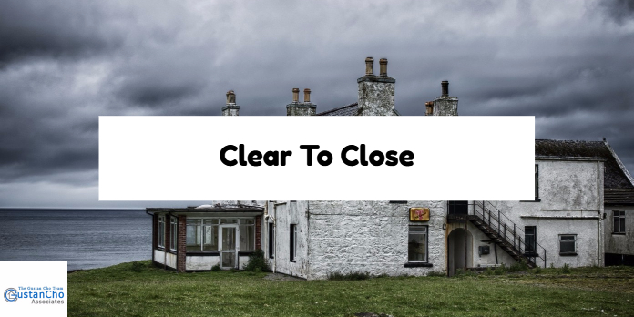 Clear To Close On Mortgage