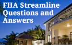 FHA Streamline Refinance Home Loan