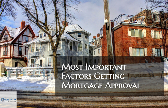 Factors Getting Mortgage Approved