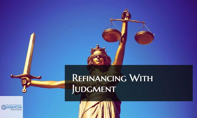 Refinancing With Judgment