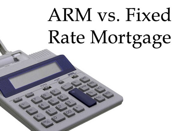 Fixed Versus Adjustable Mortgage Rates